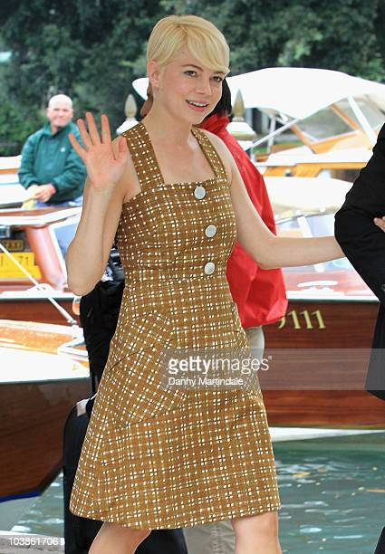 Michelle Williams attends day six of the 67th Venice Film Festival on September 6 2010 in Venice Italy