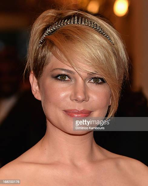 Michelle Williams attends the 2013 Costume Institute Gala PUNK Chaos to Couture at Metropolitan Museum of Art on May 6 2013 in New York City