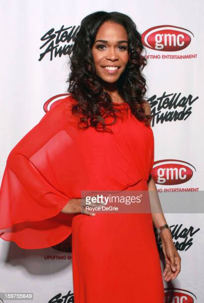 Michelle Williams attends the 28th Annual Stellar Awards at Grand Ole Opry House on January 19 2013 in Nashville Tennessee