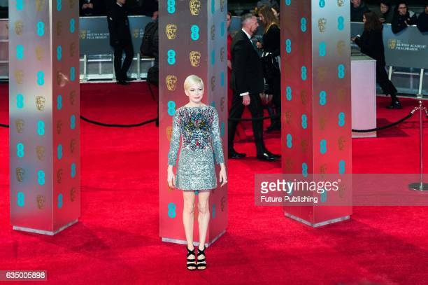 Michelle Williams attends the 70th British Academy Film Awards ceremony at the Royal Albert Hall on February 12 2017 in London England PHOTOGRAPH BY...