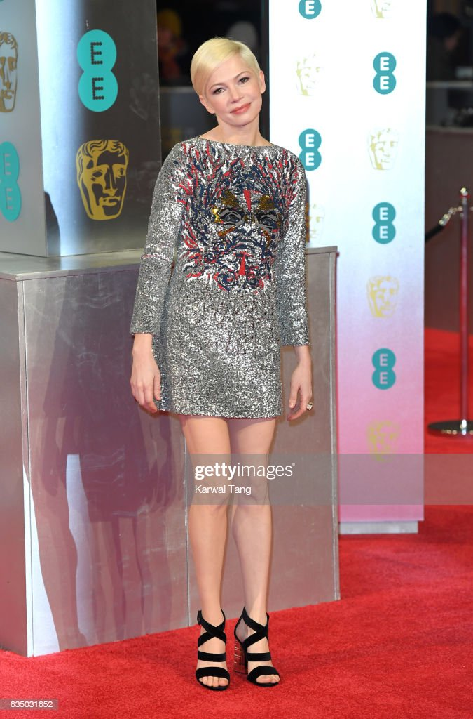 Michelle Williams attends the 70th EE British Academy Film Awards (BAFTA) at the Royal Albert Hall on February 12, 2017 in London, England.
