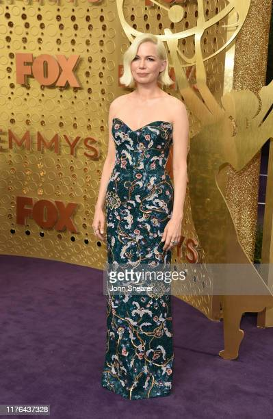 Michelle Williams attends the 71st Emmy Awards at Microsoft Theater on September 22, 2019 in Los Angeles, California.