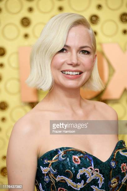 Michelle Williams attends the 71st Emmy Awards at Microsoft Theater on September 22 2019 in Los Angeles California