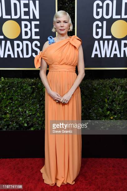 Michelle Williams attends the 77th Annual Golden Globe Awards at The Beverly Hilton Hotel on January 05 2020 in Beverly Hills California