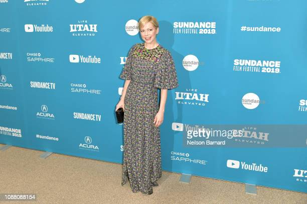 """Michelle Williams attends the """"After the Wedding"""" Premiere during the 2019 Sundance Film Festival at Eccles Center Theatre on January 25, 2019 in..."""