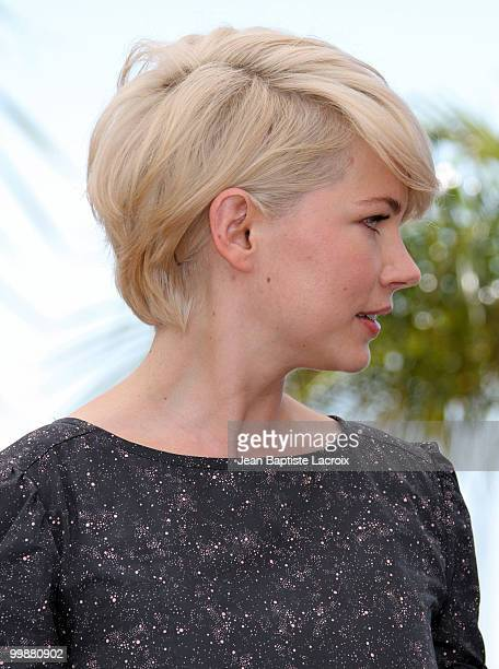 Michelle Williams attends the 'Blue Valentine' Photo Call held at the Palais des Festivals during the 63rd Annual International Cannes Film Festival...