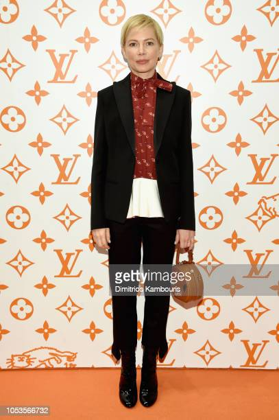 Michelle Williams attends the Louis Vuitton X Grace Coddington Event on October 25 2018 in New York City