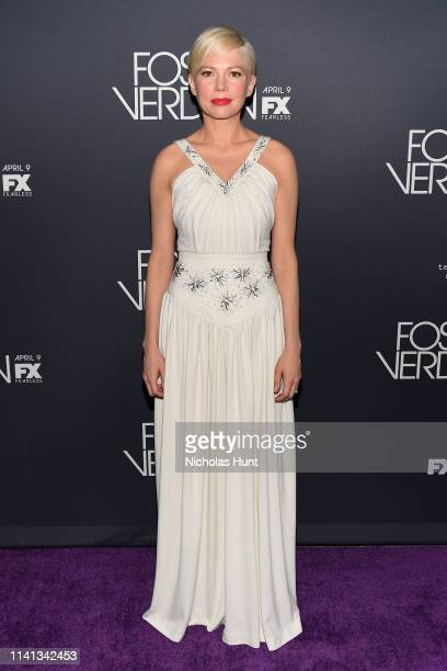 Michelle Williams attends the New York Premiere for FX's Fosse/Verdon on April 08 2019 in New York City