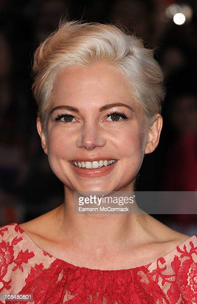 Michelle Williams attends the premiere of 'Blue Valentine' 54th BFI London Film Festival at Vue West End on October 15 2010 in London England
