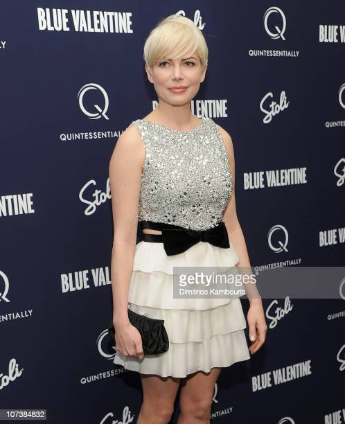 Michelle Williams attends the premiere of 'Blue Valentine' at The Museum of Modern Art on December 7 2010 in New York City