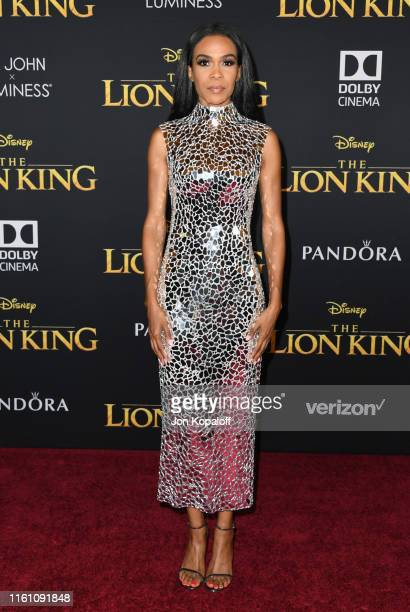 """Michelle Williams attends the Premiere Of Disney's """"The Lion King"""" at Dolby Theatre on July 09, 2019 in Hollywood, California."""