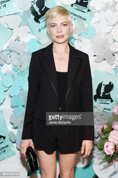 Michelle Williams attends the Tiffany Co Paper Flowers event and Believe In Dreams campaign launch on May 3 2018 in New York City