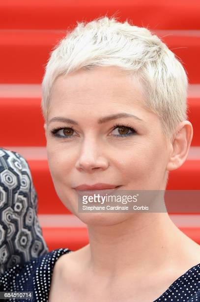 Michelle Williams attends the 'Wonderstruck' screening during the 70th annual Cannes Film Festival at Palais des Festivals on May 18 2017 in Cannes...