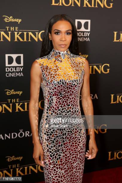 Michelle Williams attends the World Premiere of Disney's THE LION KING at the Dolby Theatre on July 09 2019 in Hollywood California