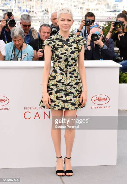 Michelle Williams attends Wonderstruck' Photocall during the 70th annual Cannes Film Festival at Palais des Festivals on May 18 2017 in Cannes France