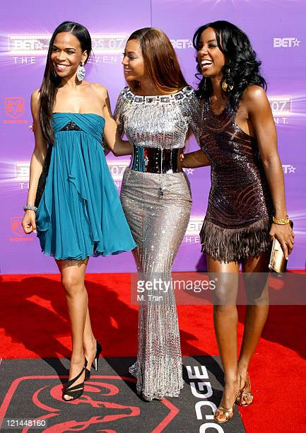 Michelle Williams Beyonce and Kelly Rowland of Destiny's Child