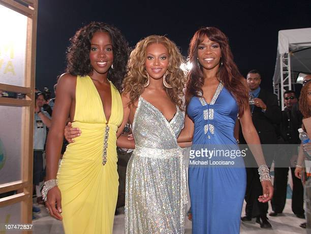 Michelle Williams Beyonce Knowles and Kelly Rowland of Destiny's Child