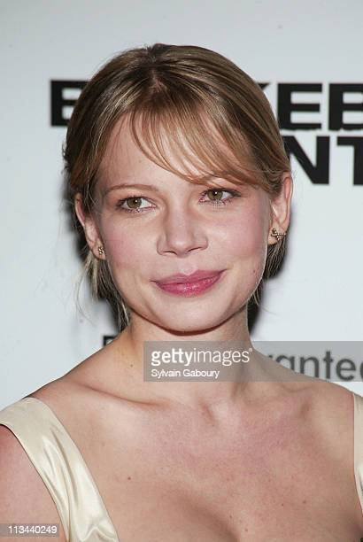 Michelle Williams during Arrivals at the premiere of Brokeback Mountain at Loews Lincoln Square Theater in New York New York United States