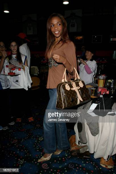 Michelle Williams during Knicks Cheering for Children Foundation Benefit March 8 2006 at Chelsea Piers in New York City New York United States