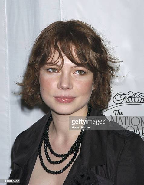 Michelle Williams during The 2003 National Board of Review of Motion Pictures Annual Awards Gala at Tavern on The Green in New York City New York...
