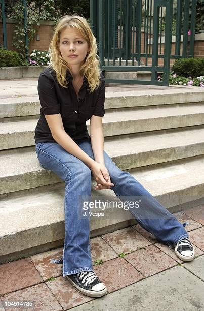 Michelle Williams during Toronto 2001 Prozac Nation Portraits at Hotel InterContinental in Toronto Canada