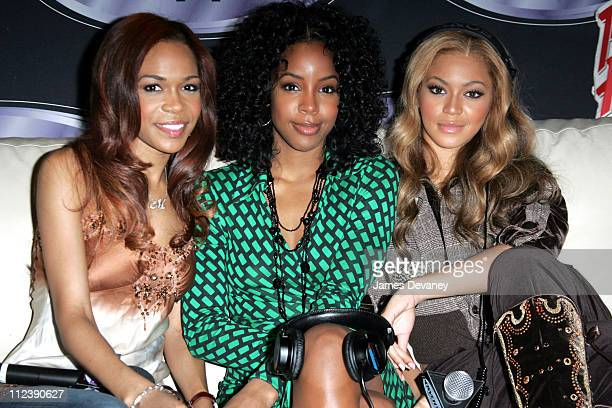 Michelle Williams Kelly Rowland and Beyonce of Destiny's Child