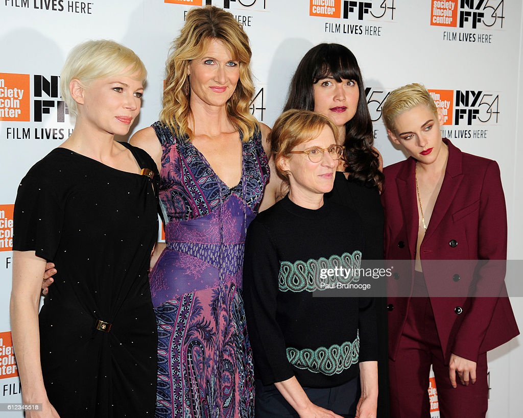 Michelle Williams, Laura Dern, Kelly Reichardt. Lily Gladstone and Kristen Stewart attends the 54th New York Film Festival - 'Certain Women' Premiere at Alice Tully Hall on October 3, 2016 in New York City.