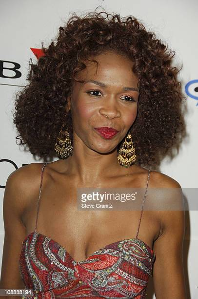 Michelle Williams of Destiny's Child during 2006 Clive Davis PreGRAMMY Awards Party Arrivals at Beverly Hilton in Beverly Hills California United...
