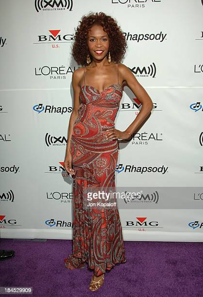 Michelle Williams of Destiny's Child during 2006 Clive Davis PreGRAMMY Awards Party Arrivals at Beverly Hilton Hotel in Beverly Hills California...