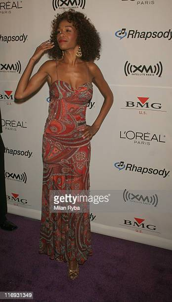 Michelle Williams of Destiny's Child during 2006 Grammy Awards Clive Davis Party at Beverly Hilton Hotel in Beverly Hills California United States