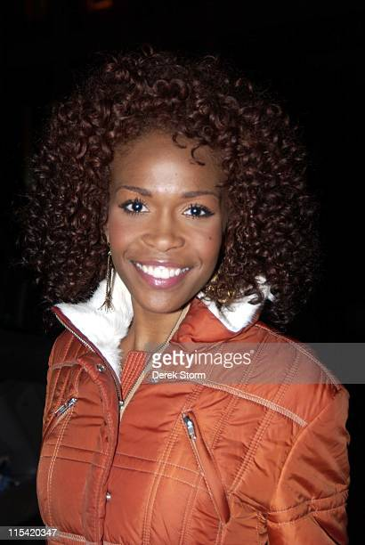Michelle Williams of Destiny's Child during The Music of Joni Mitchell at Carnegie Hall February 1 2006 at Carnegie Hall in New York City New York...
