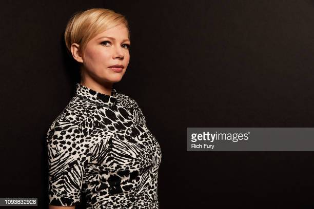 Michelle Williams of FX's 'Fosse' poses for a portrait during the 2019 Winter TCA Portrait Studio at The Langham Huntington Pasadena on February 4...