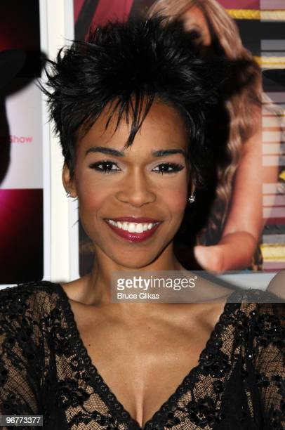 Michelle Williams poses at The Wendy Williams Show on February 16 2010 in New York City
