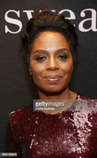 Michelle Wilson attends the after party for the Broadway Opening Night of Sweat at Brasserie 8 1/2 on March 26 2017 in New York City