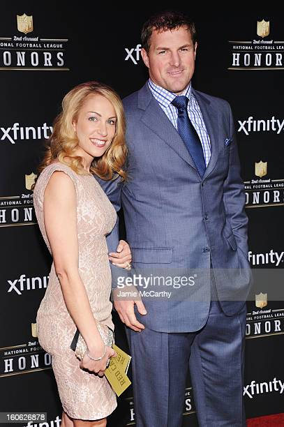 Michelle Witten and NFL player Jason Witten attend the 2nd Annual NFL Honors at Mahalia Jackson Theater on February 2 2013 in New Orleans Louisiana