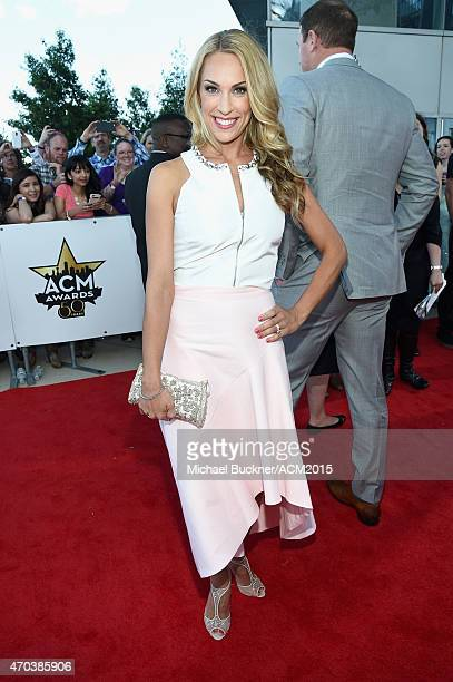 Michelle Witten attends the 50th Academy of Country Music Awards at ATT Stadium on April 19 2015 in Arlington Texas