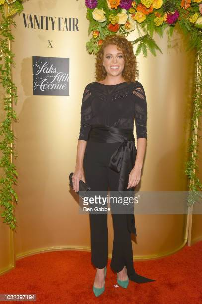 Michelle Wolf attends as Vanity Fair and Saks Fifth Avenue celebrate Vanity Fair's BestDressed 2018 at Manhatta on September 12 2018 in New York City