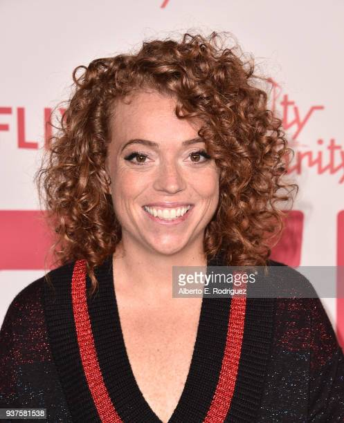 Michelle Wolf attends the 6th Annual Hilarity For Charity at The Hollywood Palladium on March 24 2018 in Los Angeles California