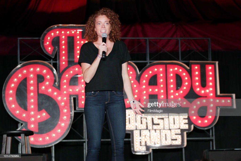 Michelle Wolf performs on The Barbary Stage during the 2018 Outside Lands Music And Arts Festival at Golden Gate Park on August 10, 2018 in San Francisco, California.