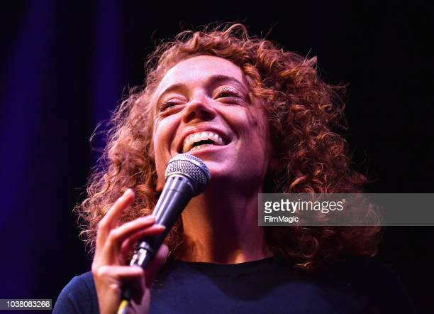Michelle Wolf performs onstage at The Kicker during the 2018 Life Is Beautiful Festival on September 22 2018 in Las Vegas Nevada