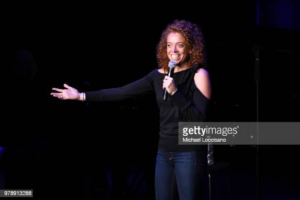 Michelle Wolf performs onstage during Lincoln Center Corporate Fund's Stand Up Sing for the Arts at Alice Tully Hall on June 19 2018 in New York City