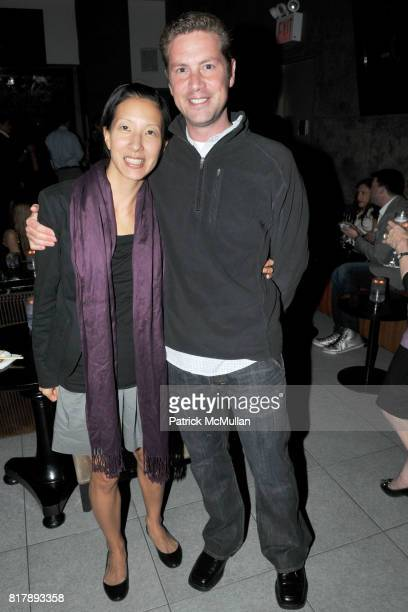 Michelle Wu and Peter Buchenholz attend ASSOCIATION to BENEFIT CHILDREN Junior Committee Fundraiser at Gansevoort Hotel on September 14 2010 in New...