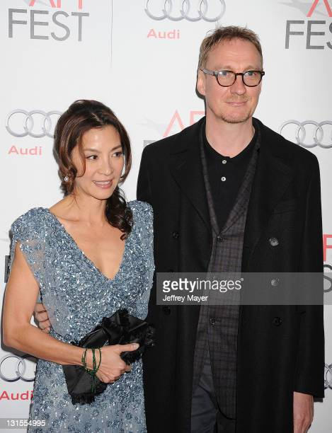 """Michelle Yeoh and David Thewlis attend the AFI Fest 2011 Special Screening Of """"The Lady"""" held at the Grauman's Chinese Theatre on November 4, 2011 in..."""