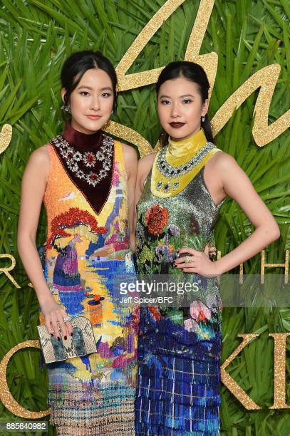 Michelle Yeoh and Rachel Yeoh attend The Fashion Awards 2017 in partnership with Swarovski at Royal Albert Hall on December 4 2017 in London England