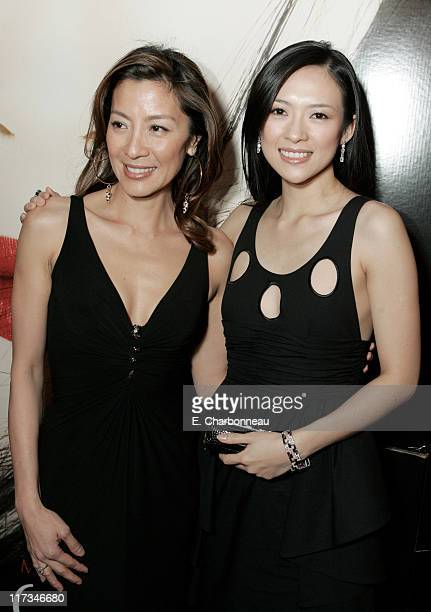 Michelle Yeoh and Ziyi Zhang during Columbia Pictures' New York City Premiere of 'Memoirs of a Geisha' at Ziegfeld Theatre / The Central Park...