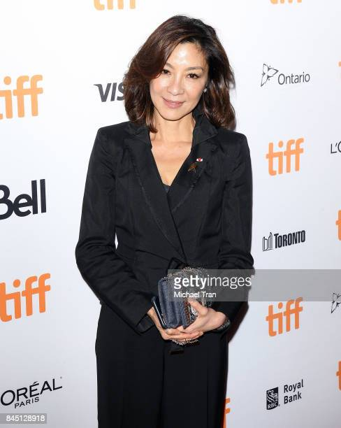 Michelle Yeoh arrives 2017 TIFF Premieres Photo Calls and Press Conferences held on September 9 2017 in Toronto Canada