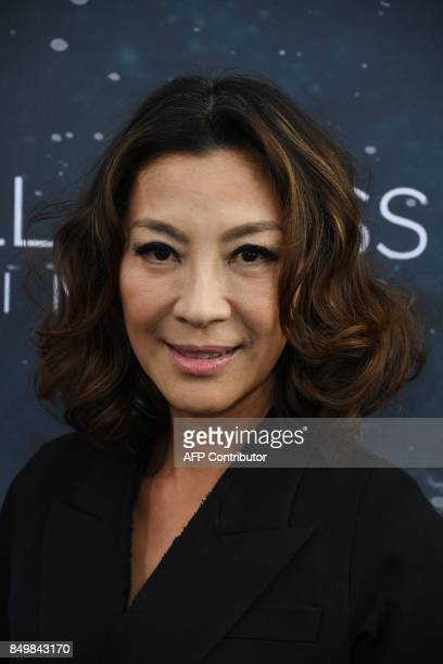 Michelle Yeoh arrives for the premiere of CBS's 'Star Trek Discovery' at The Cinerama Dome in Hollywood California on September 19 2017 / AFP PHOTO /...