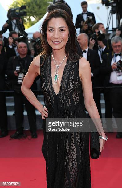 Michelle Yeoh attend the Julieta premiere during the 69th annual Cannes Film Festival at the Palais des Festivals on May 17 2016 in Cannes France