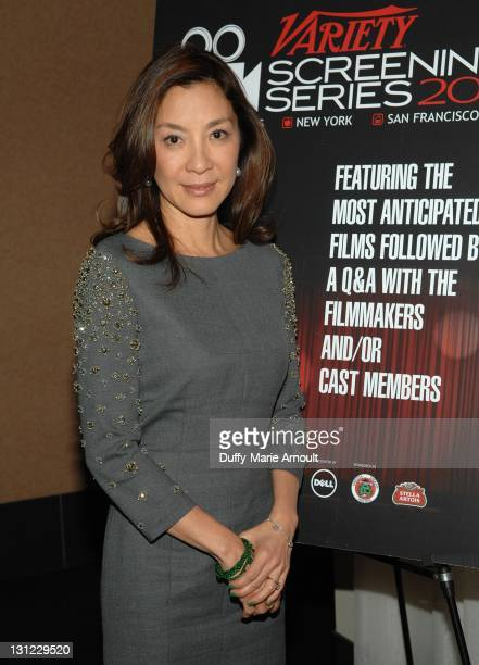 Michelle Yeoh attends 2011 Variety Screening Series The Lady at ArcLight Cinemas on November 2 2011 in Hollywood California