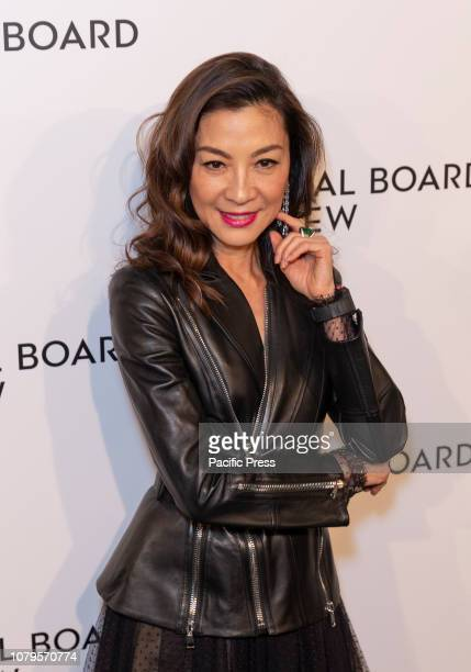 Michelle Yeoh attends National Board of Review 2019 Gala at Cipriani 42nd street.